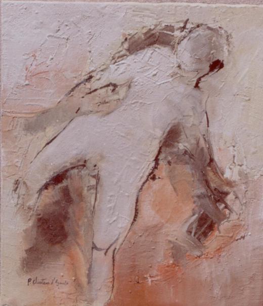 Figura em Areia XXIII (Mulher)