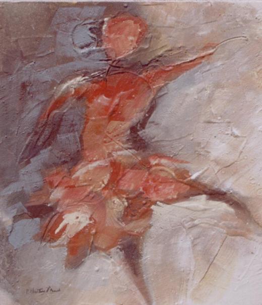 Figura em Areia XXIV (Dançando)
