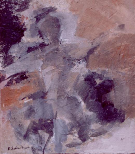 Figura em Areia (Corpo com mais ou menos alma I)